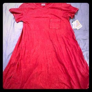 LuLaRoe Acid wash Carly dress